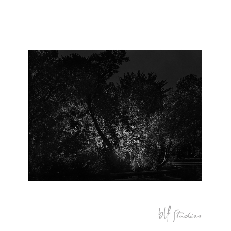 Night Portraits in Assiniboine Park