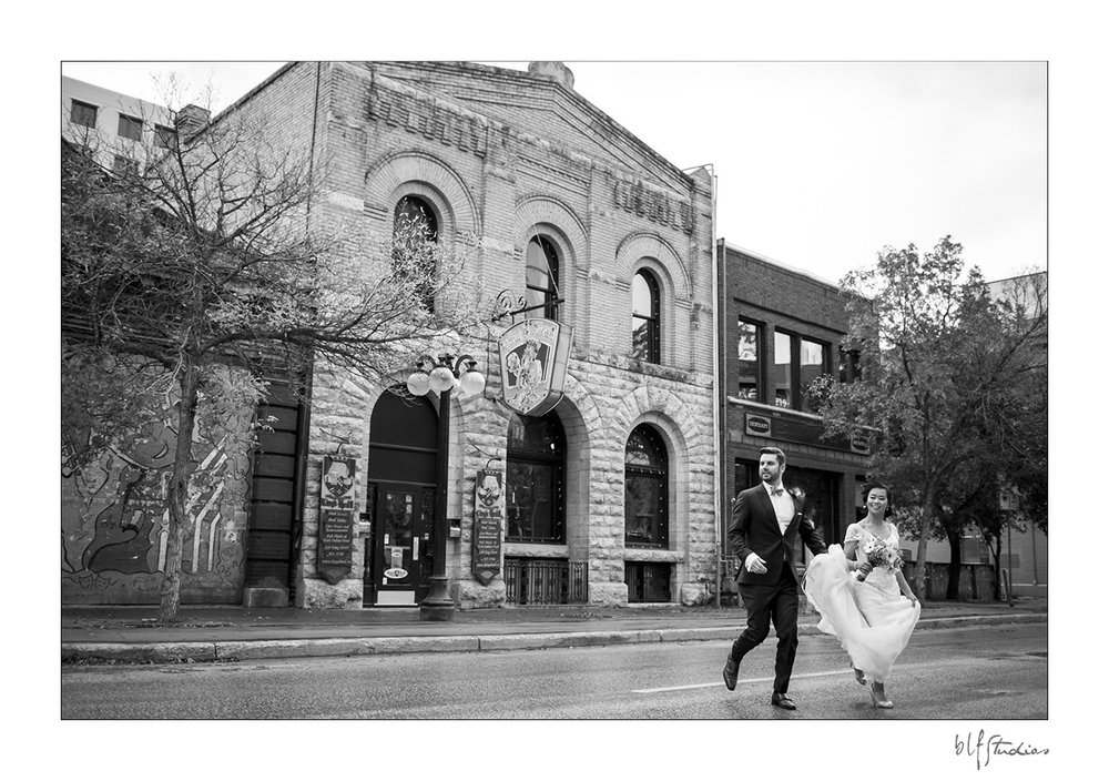wedding photos in Wpg exchange district
