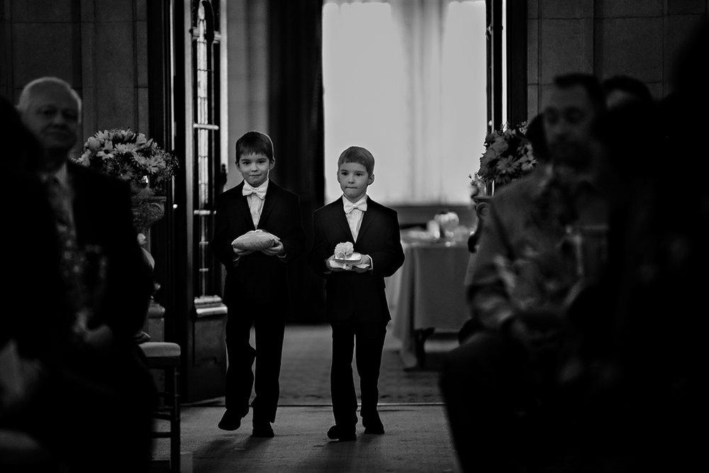 Wedding ceremony in Hotel Fort Garry Crystal Ballroom.jpg