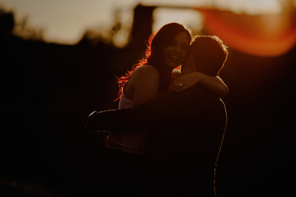 Pinawa Dam Engagement session