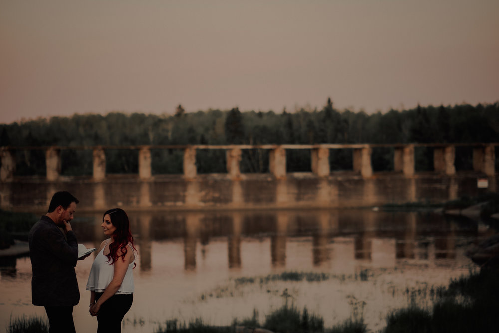 Pinawa Dam Engagement Photographer