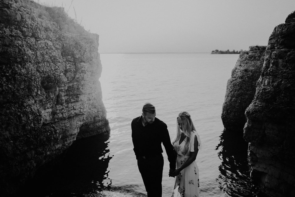 Steep Rock Manitoba Engagement Photos
