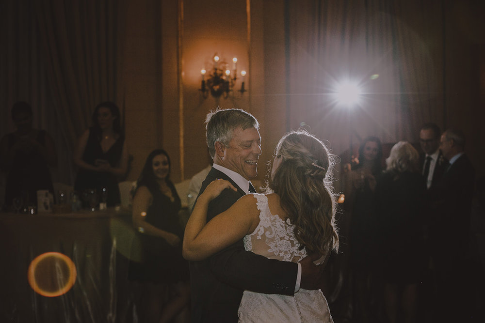 Father Daughter dance wedding Winnipeg photo