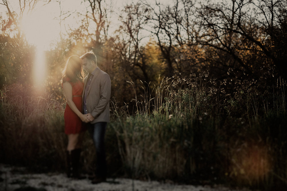 St. Norbert Fall engagement photos