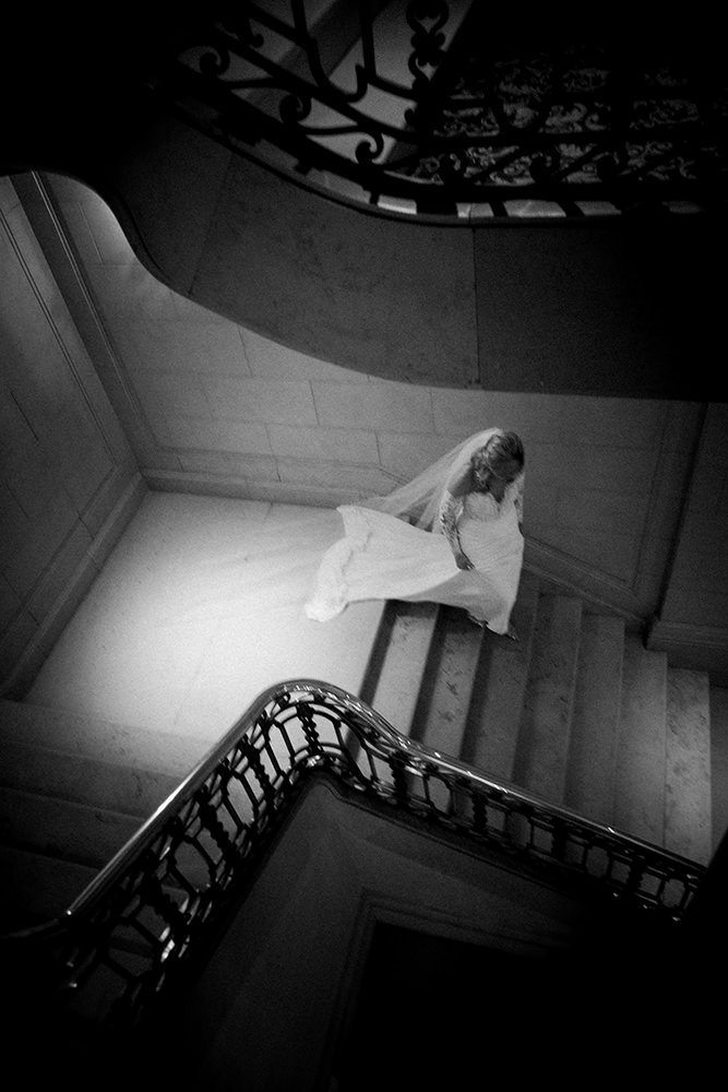 Bride at Hotel Fort Garry
