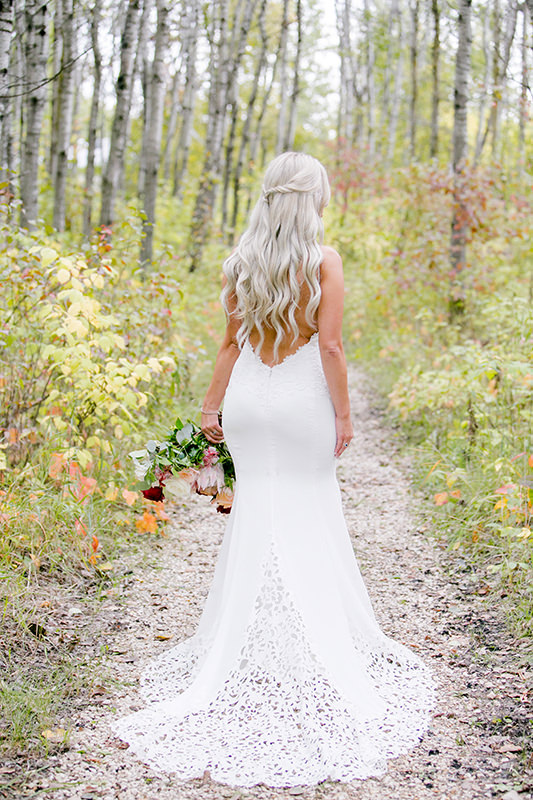 Bliss Bridal Boutique Wedding Dress at Cielos Garden
