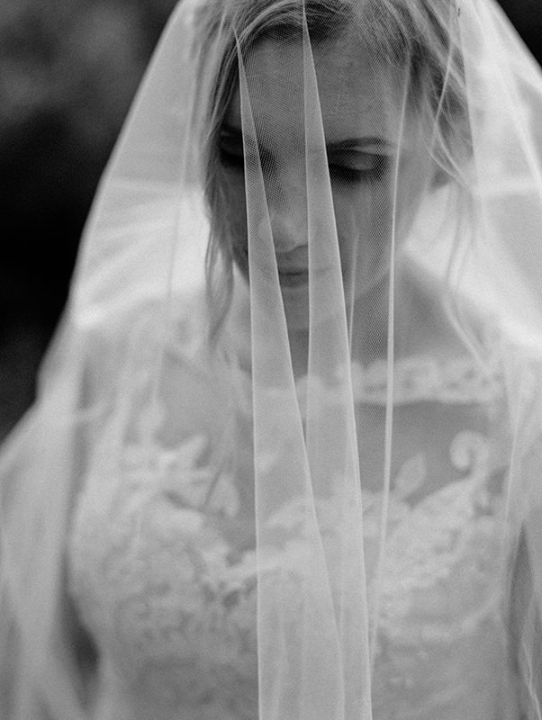 Veil and wedding gown design