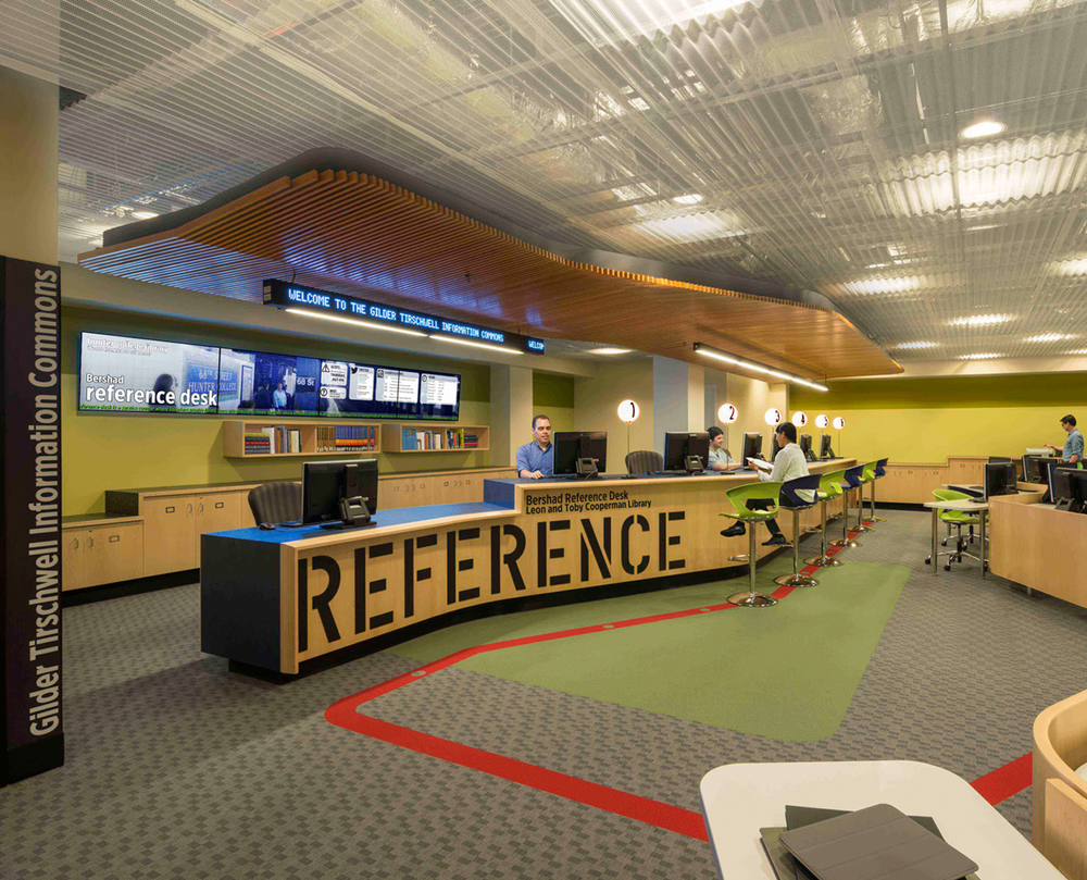 Cooperman Library;  phase I, third floor renovation