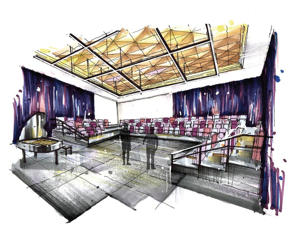 Brecher Rehearsal Hall