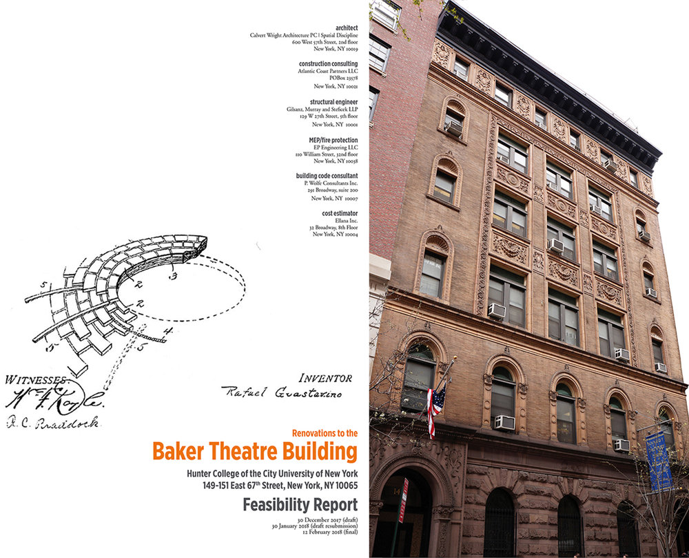Baker Theatre Building; renovation feasibility study