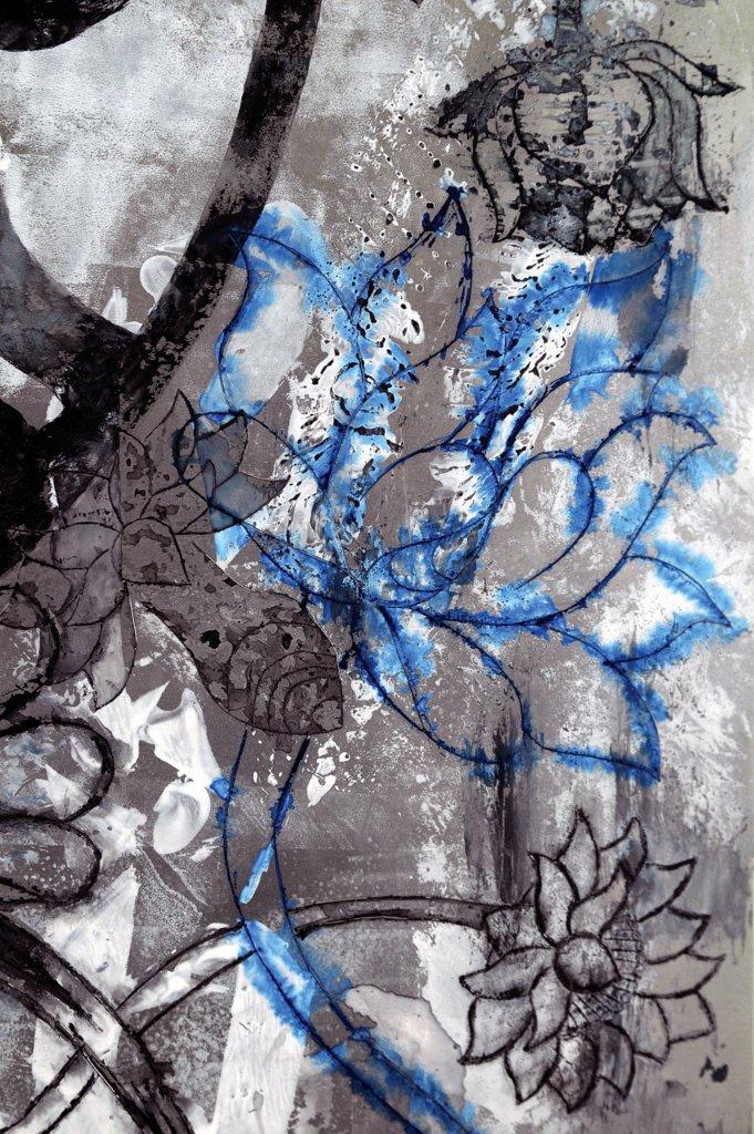 Rueda del Dharma (fragmento), 2009