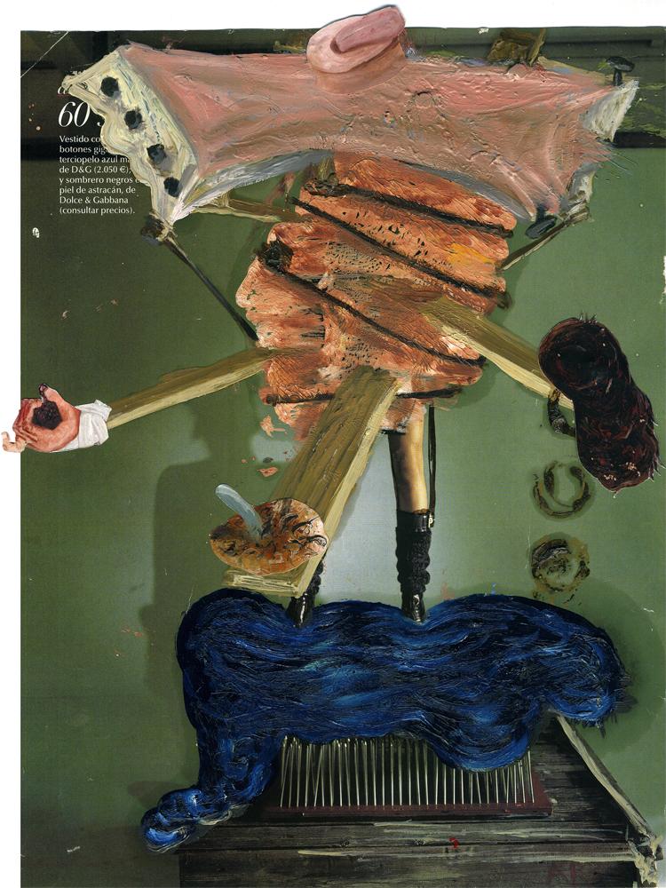 Parangón: terciopelo azul, 2012