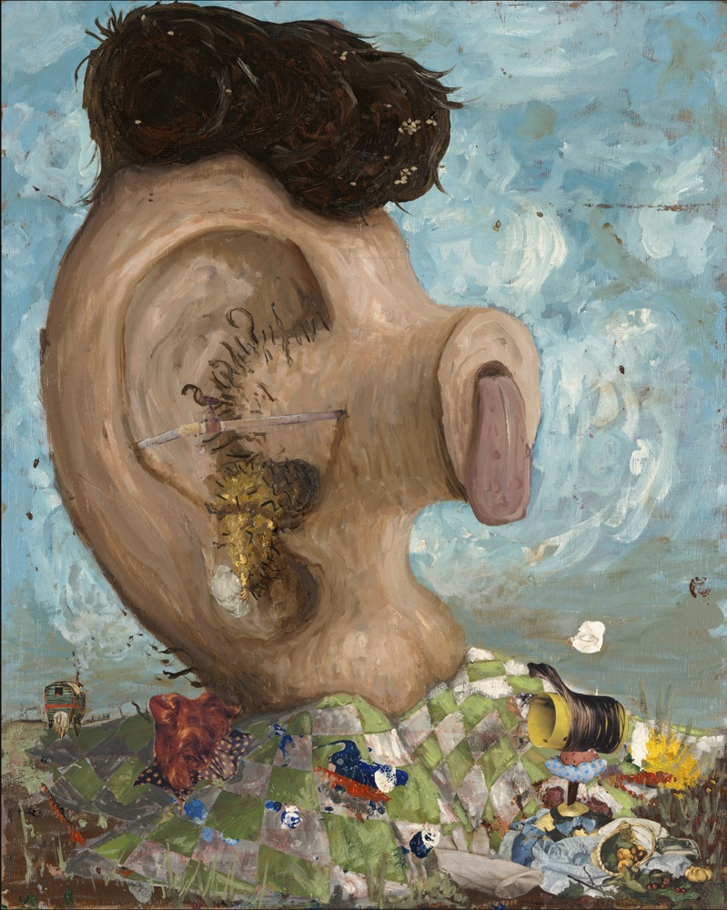 Cuadro con oreja mocha, 2010