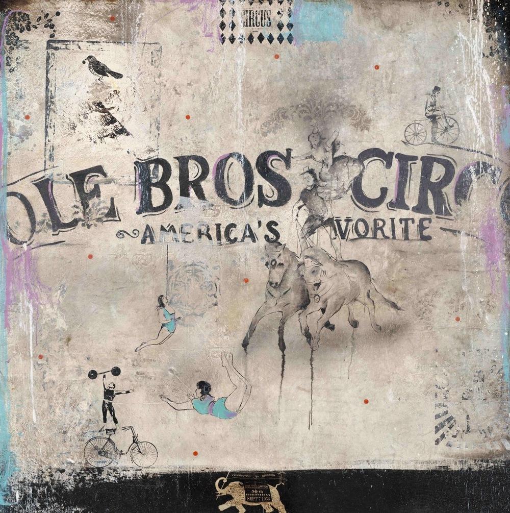 Cartel de circo, 2012