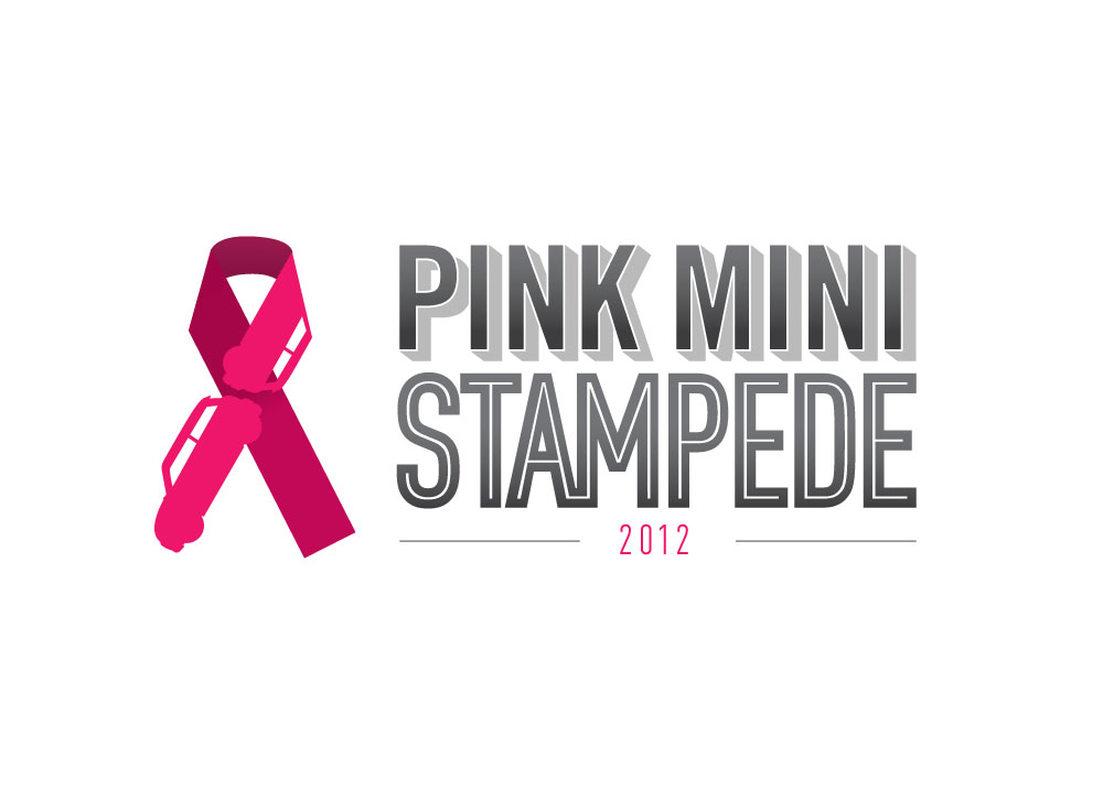Logo for a breast cancer fundraiser