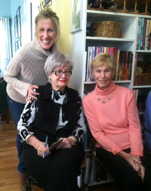 Kathryn with members Mary Jane and Schatze
