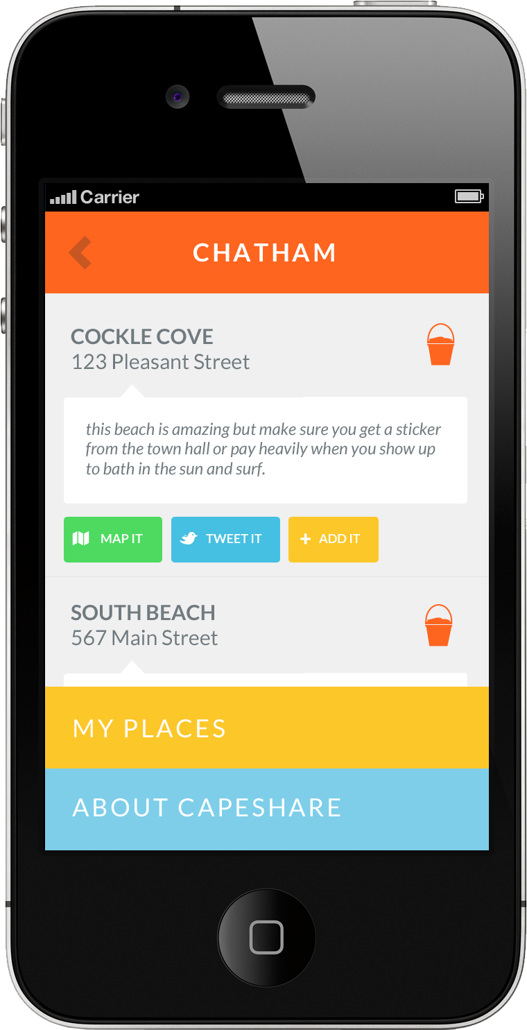 CapeShare for iPhone: A crafted guidebook