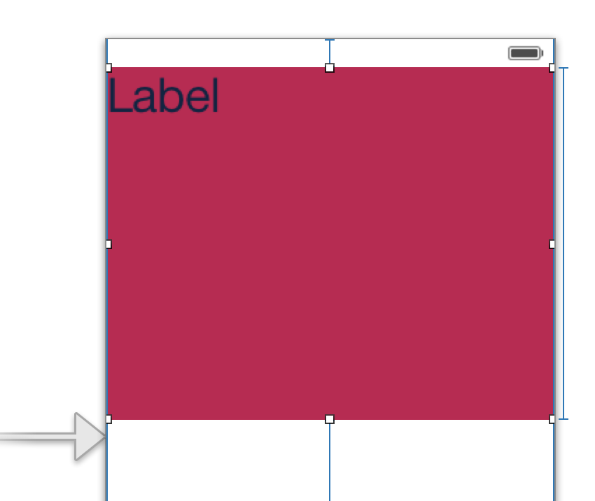 Correct Auto Layout Constraints for the Top Layout Guide