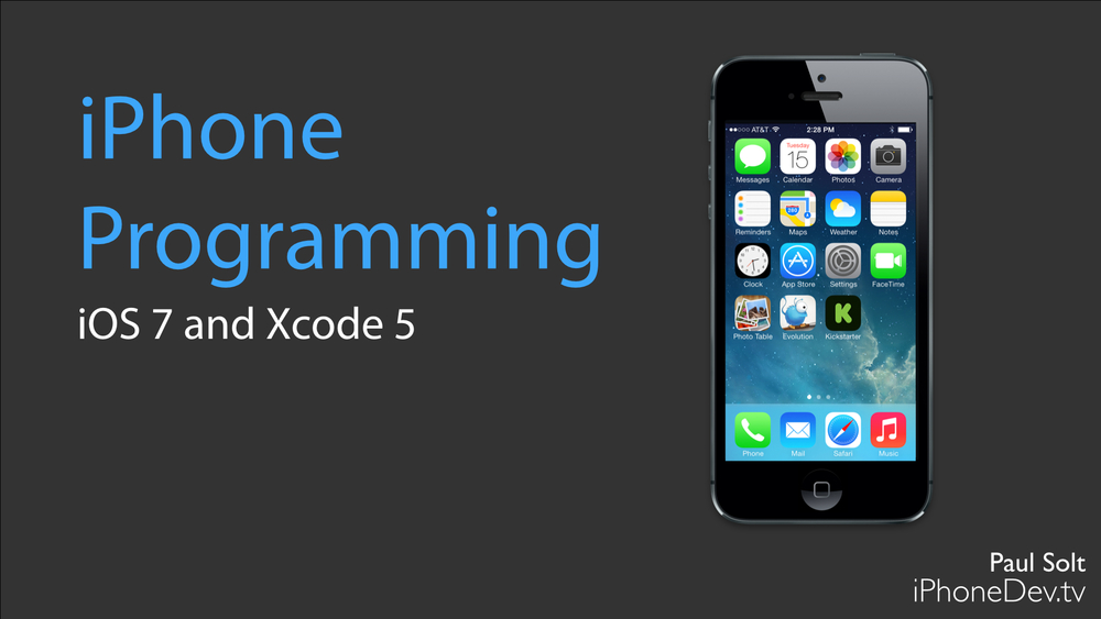 iPhone App Programming for iOS 7 and Xcode 5