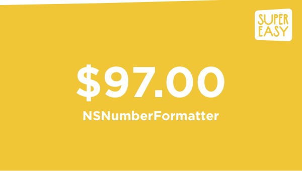 How to Use NumberFormatter (NSNumberFormatter) in Swift to Make