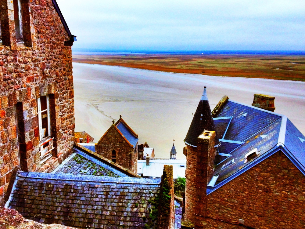 view at Mont Saint Michel