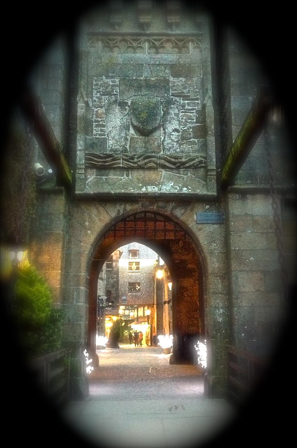 Entrance to Mont Saint Michel
