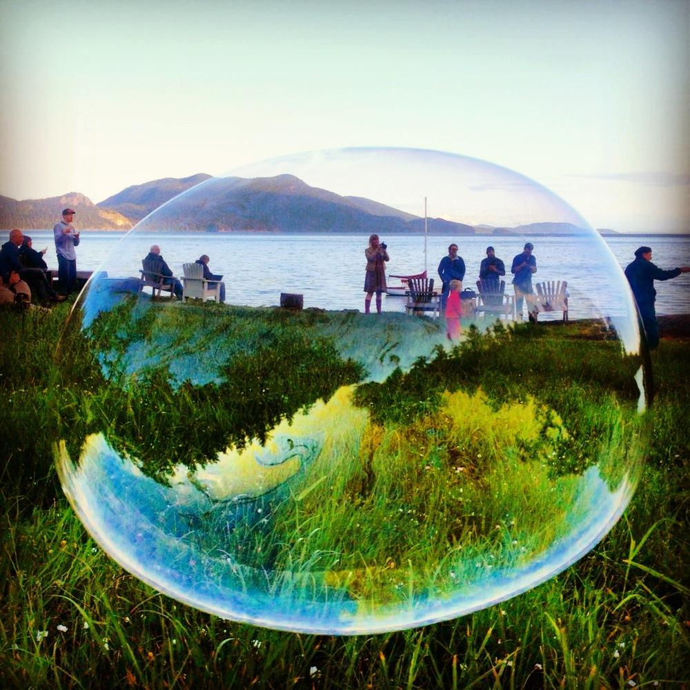 Photograph: Chloë Rain atDoe Bay Resort, Orcas Island