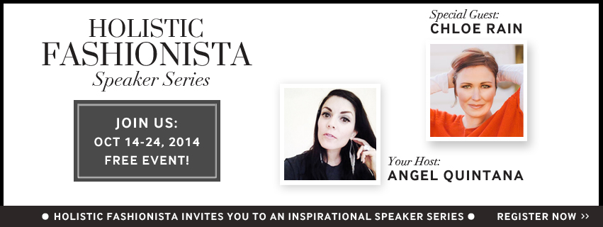 The Magic Begins October 14th : Register here >>  holisticfashionista.com/speaker-series