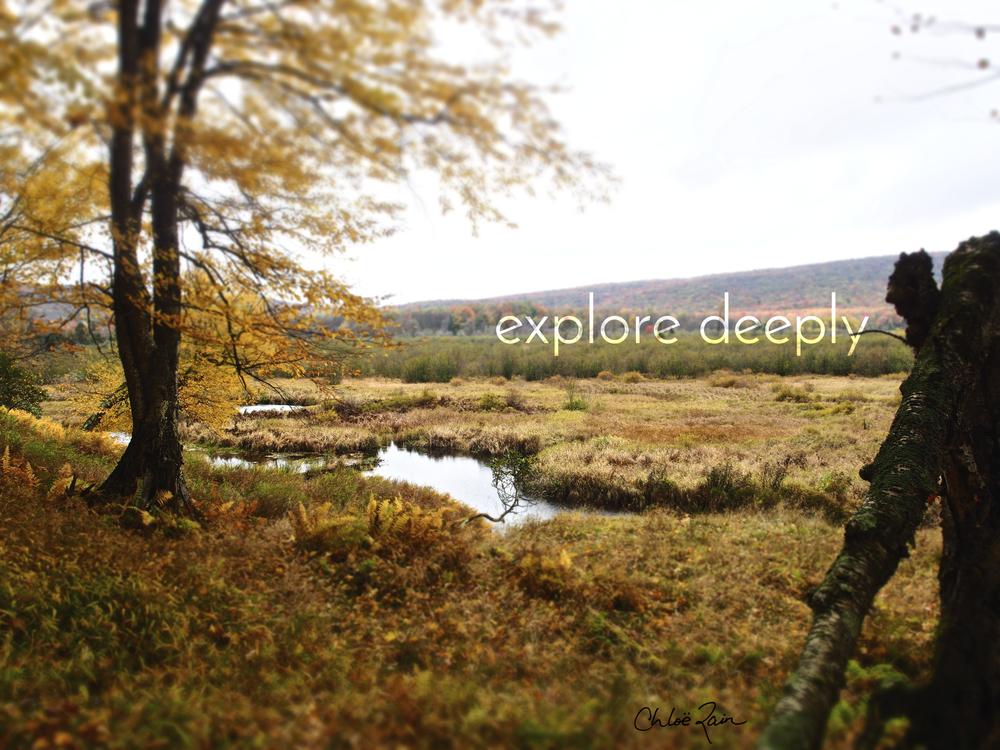 Fall Deeply