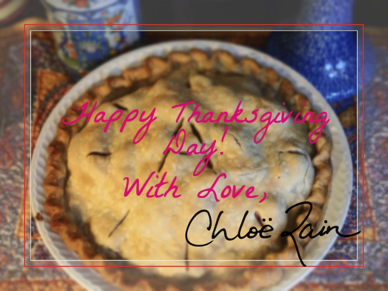 Happy Thanksgiving Day Chloe Rain