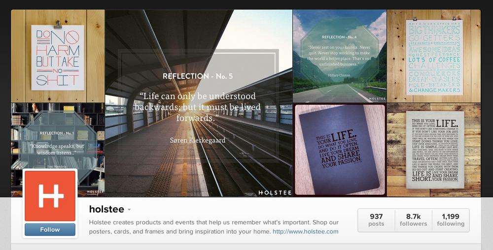 holstee instagram
