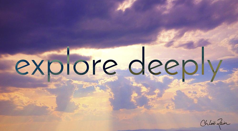explore deeply group program