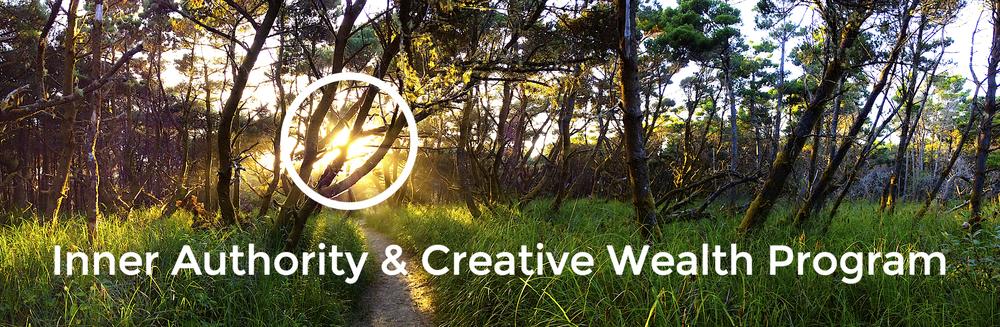 inner authority creative wealth program chloe rain explore deeply