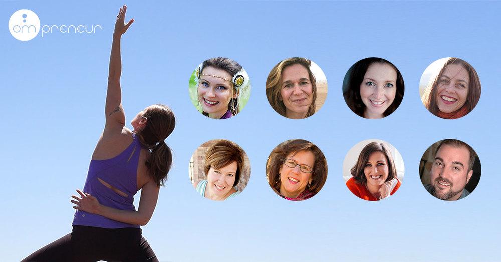 The Yoga of Entrepreneurship: A year long virtual program with8 Wisdom Teachers