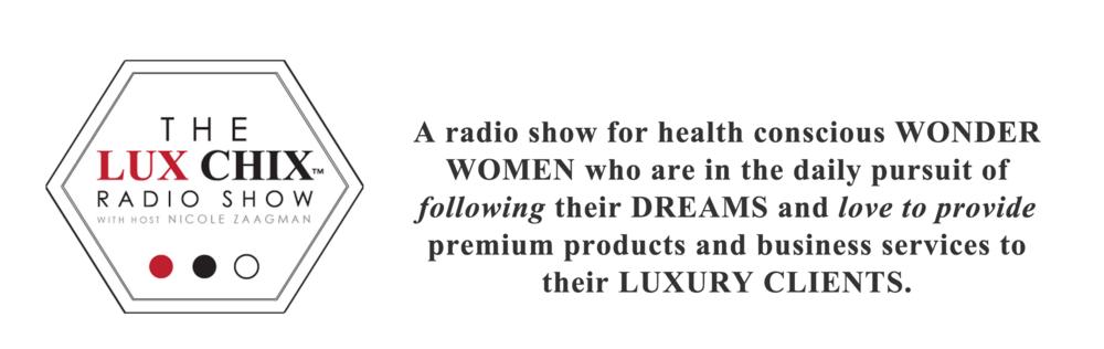 lux chix radio show for divas chloe rain explore deeply