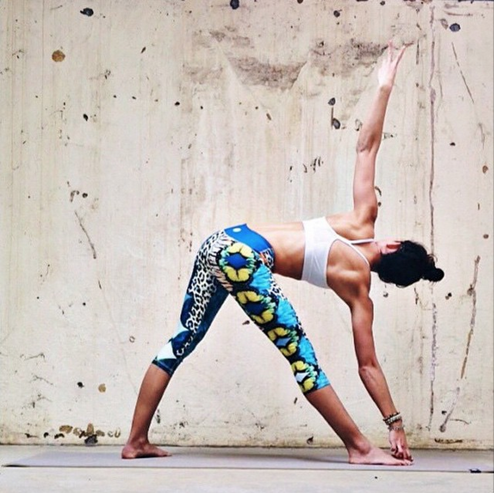 Jungle Fever Artist Designed Yoga Capris by Luna Jai