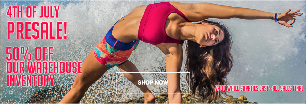 Luna Jai Yoga Wear Sale