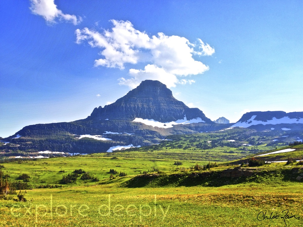 Reynolds Mountain: Logan's Pass