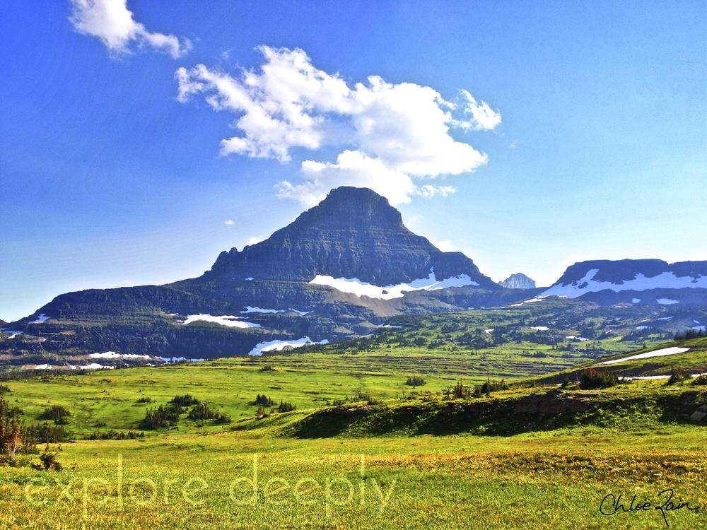 Reynolds Mountain: Logan's Pass