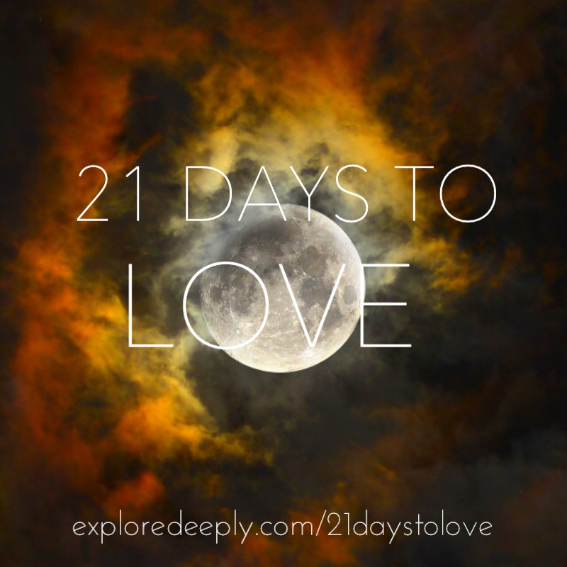 21 Days to Love Full Moon Ceremony