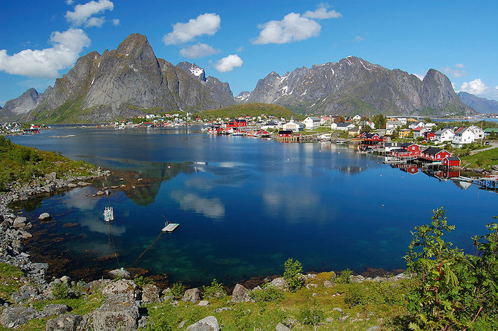 Picture of the Day on Bing. Lofoten, Islands, Norway.