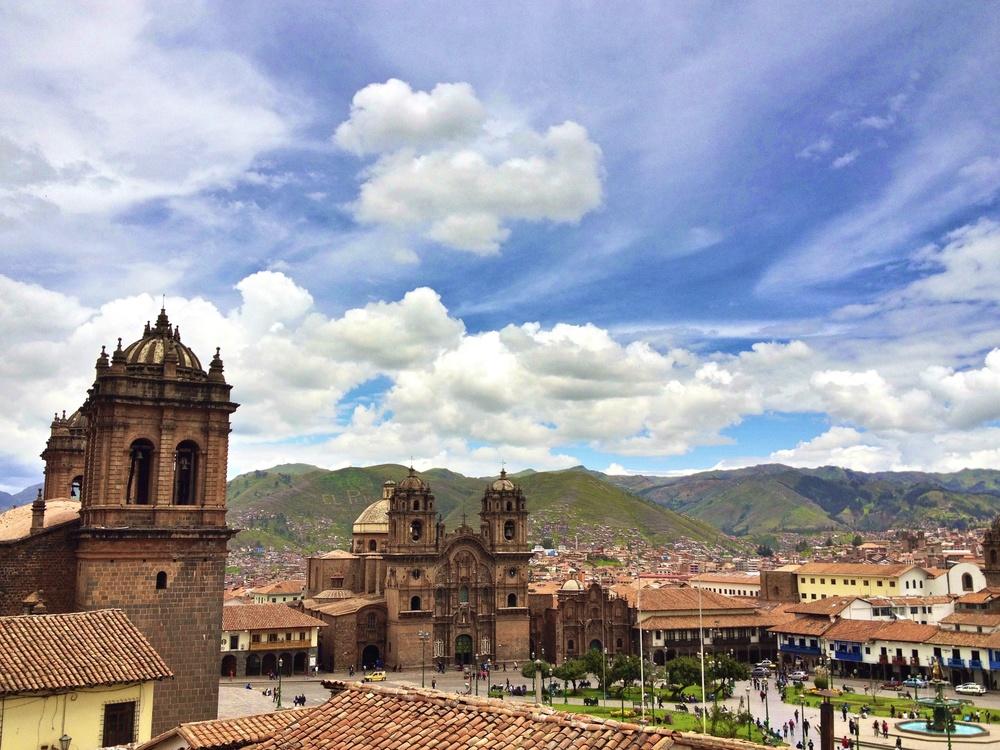 The beautiful city of Cusco, Peru