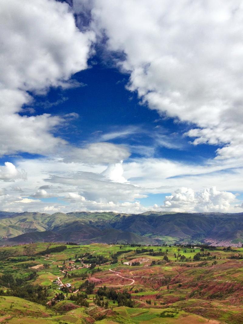 The Mountains Around Cusco Peru