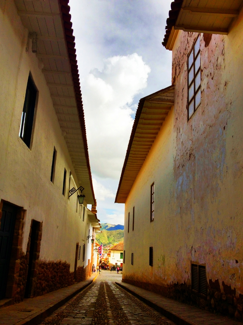 City Streets of Cusco Peru