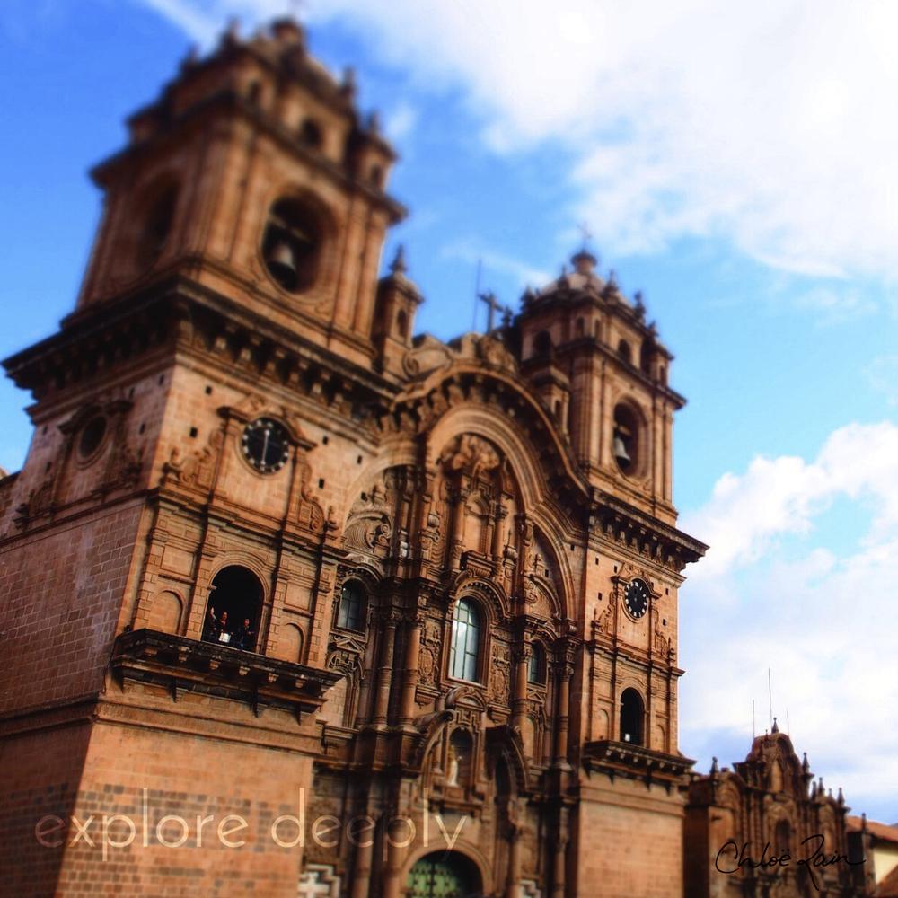Iglesia de la Compañía de Jesús Cuzco Peru