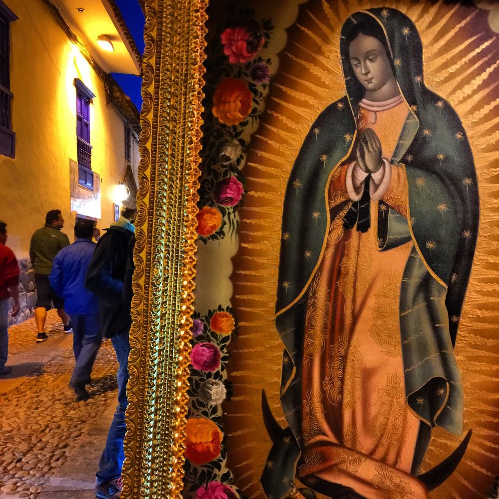 San Blas Cuzco Peru The Blessed Virgin Mary