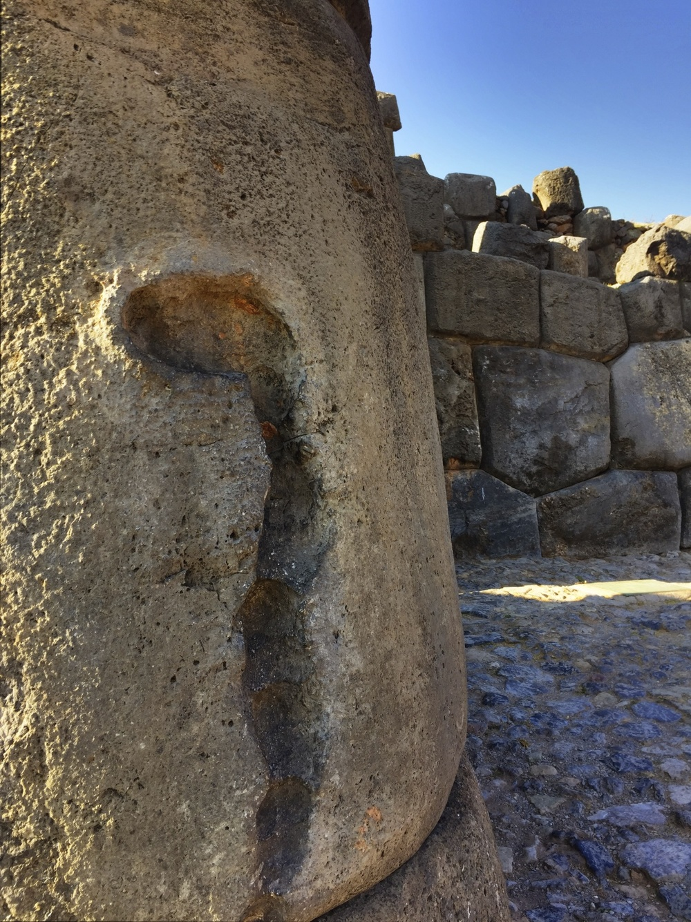 sacsayhuaman writing