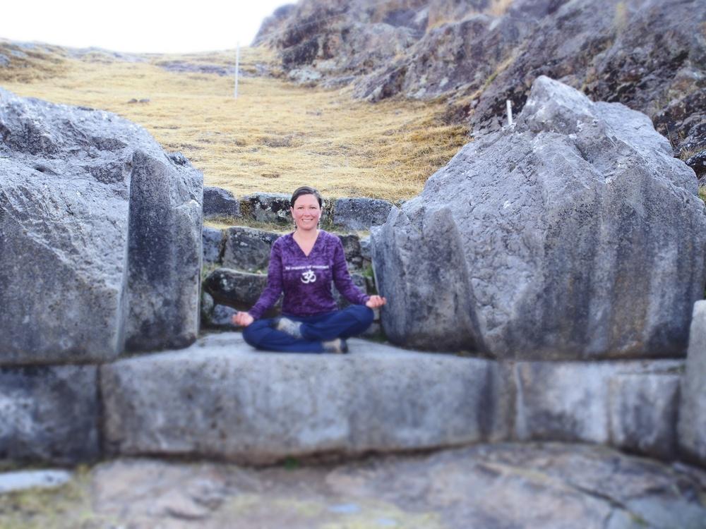 Shamanic Practitioner Sacsayhuaman Cuzco Peru