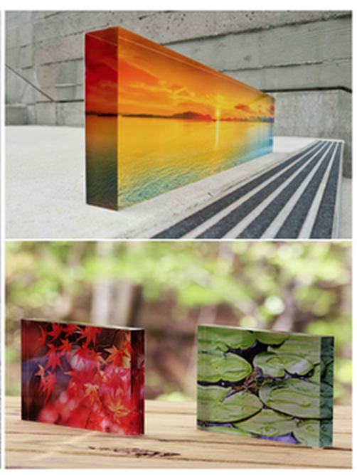 Sample Acrylic Block Images