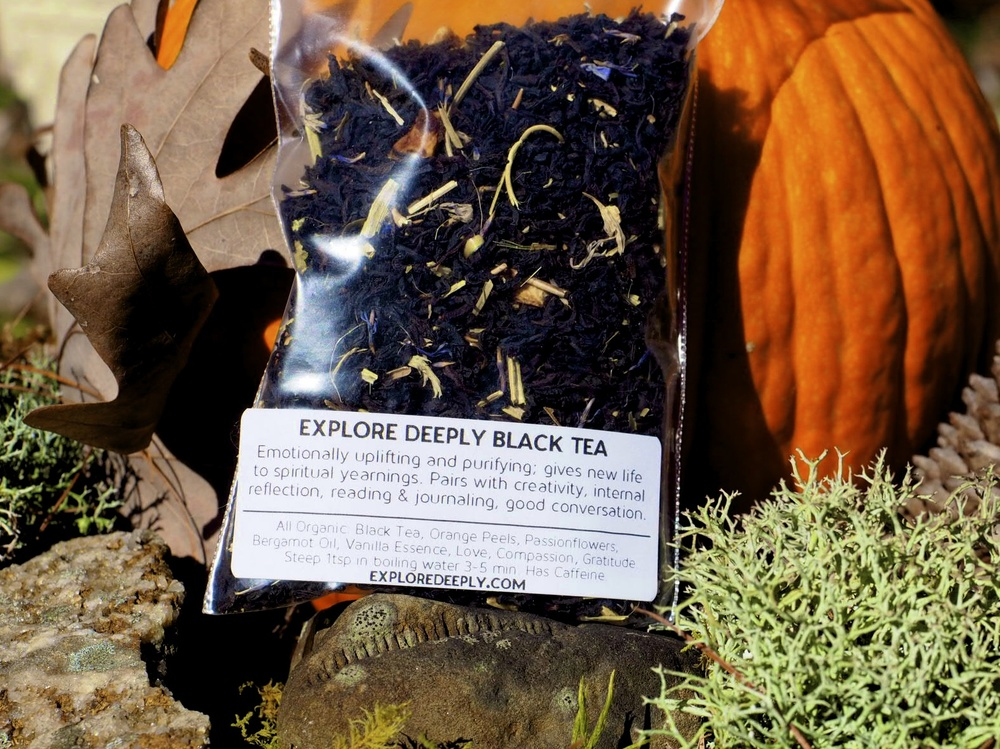 Explore Deeply Organic Black Tea Blend for Joy & Communication with the Angels.